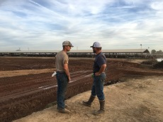 Jon and Jack at Future Robotic Barn Site